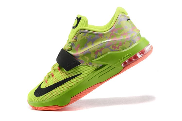 8ad8186e8ffb WMNS KD 7 GS Easter Flash Lime Liquid Lime Black Vapor Green Sunset 653996  304
