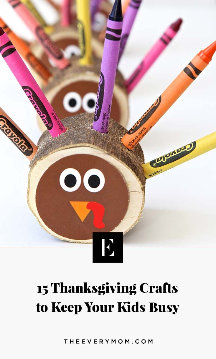 15 Thanksgiving Crafts to Keep Your Kids Busy   Business ...