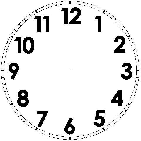 orologio da stampare , Cerca con Google