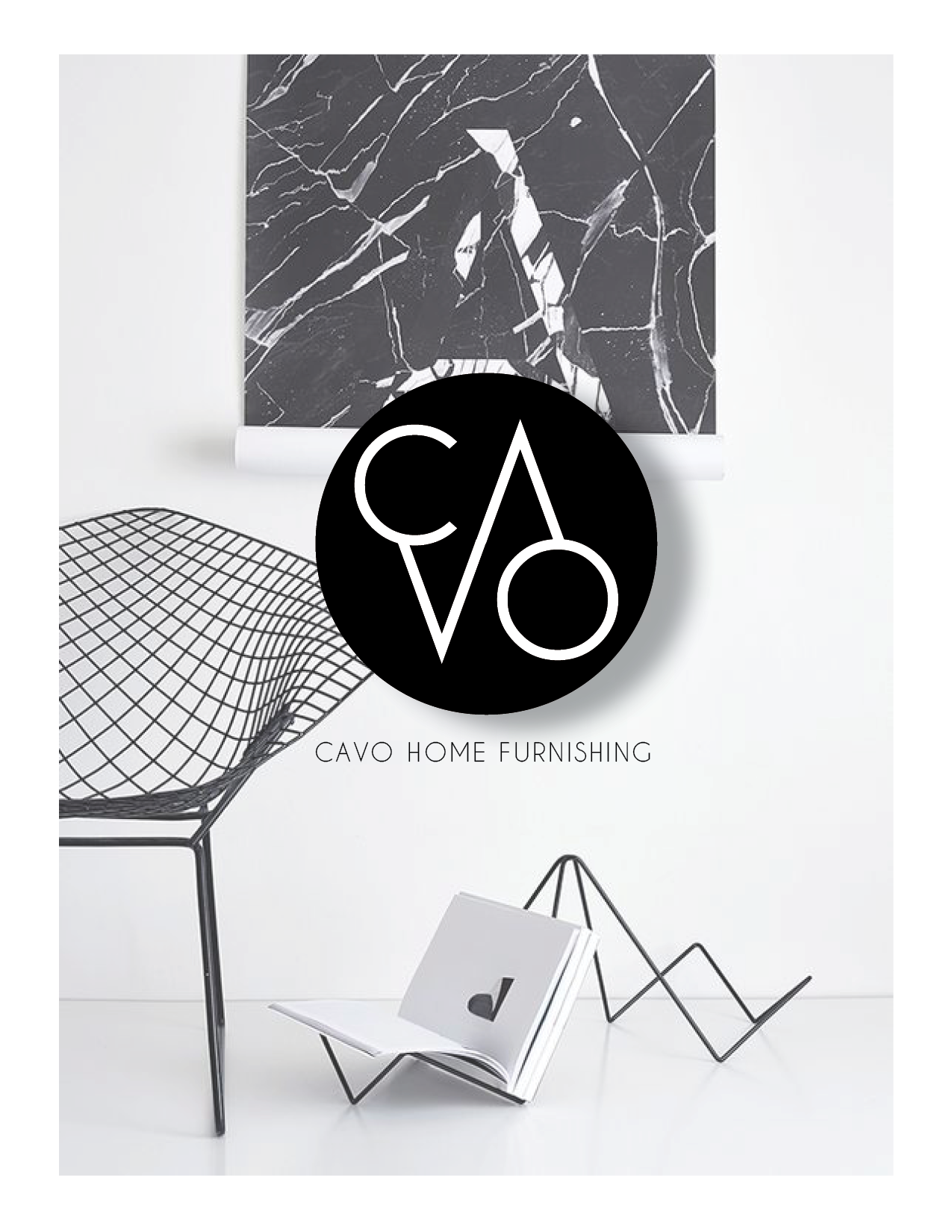 Logo Design CAVO Home Furnishing