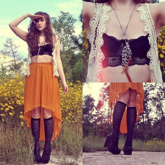 Welcome, October's Wild Flowers (by Mary Simmons) http://lookbook.nu/look/4081088-Welcome-October-s-Wild-Flowers