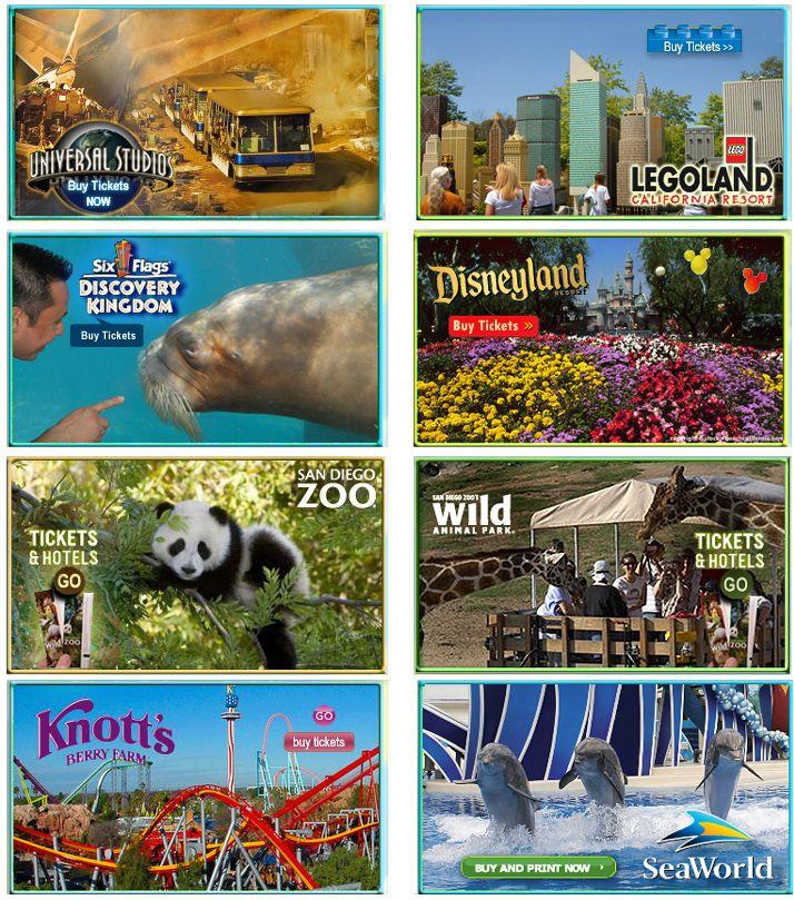California Theme Parks - California Theme Park Attractions ... on
