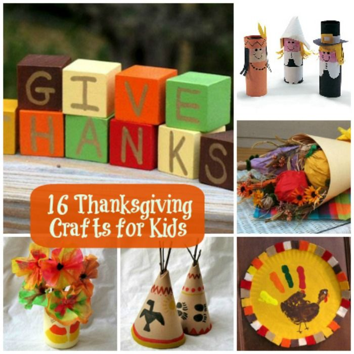 Delightful Fun Thanksgiving Crafts For Kids Part - 4: 16 Fun Thanksgiving Crafts For Kids