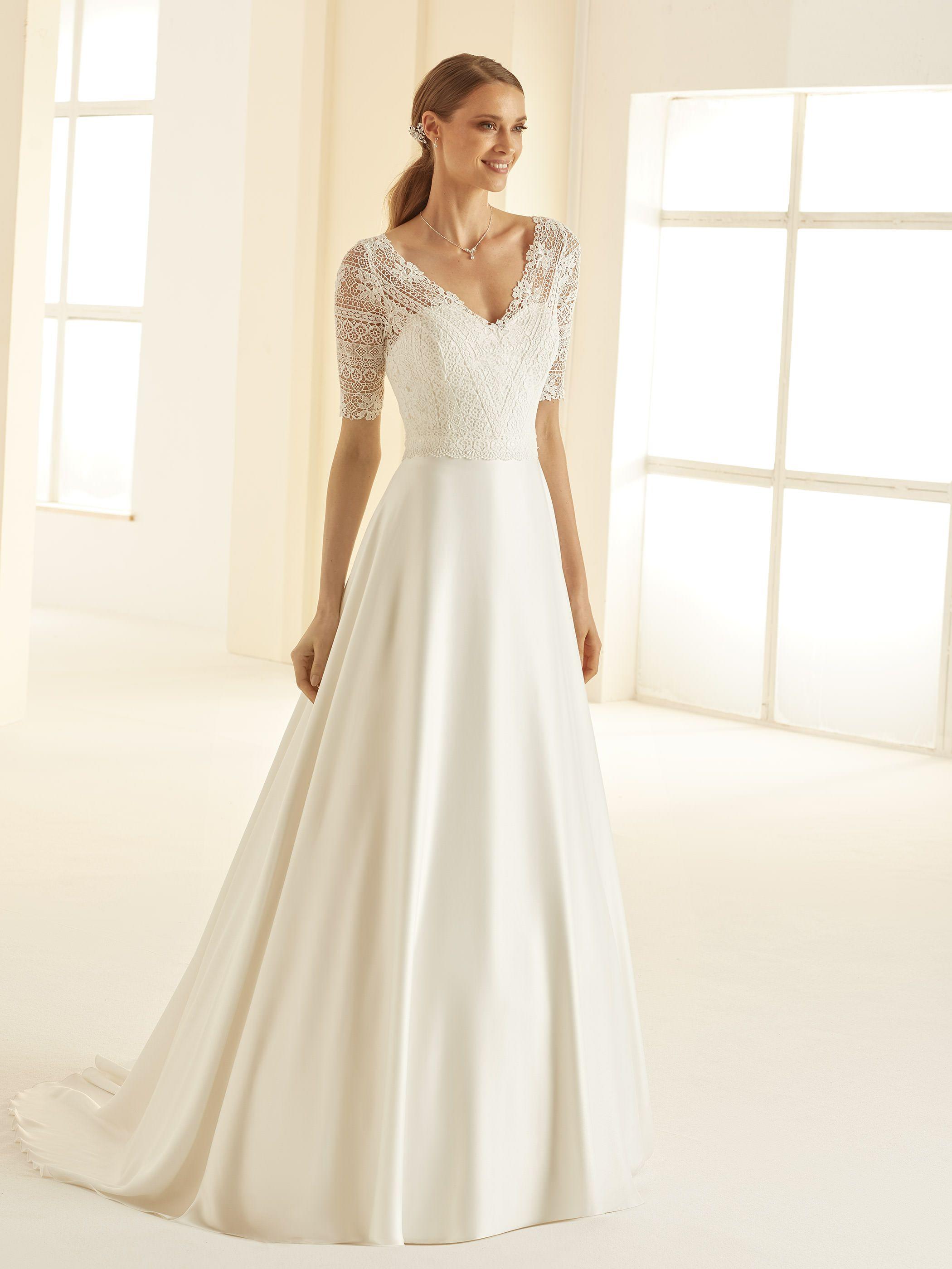 Nieuw Klassieke jurk uit de collectie van Bianco Evento #verliefd JB-93