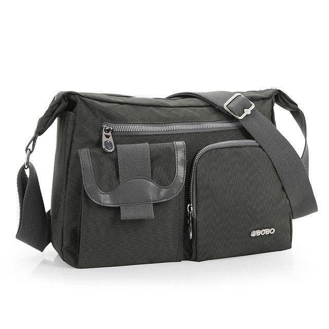 0ab06b906f 2015 New Fashion Men s Shoulder Bag Vintage Nylon Men Messenger Bag Korean  Style Cool Women Waterproof Handbag High Quality