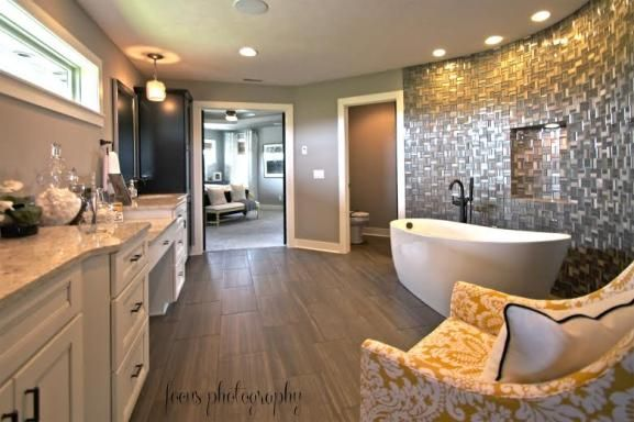 Stunning Bathroom Design. Street Of Dreams. Fluff Interior Design, Omaha,  NE.