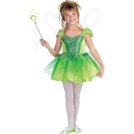 Lil Tinkerbell Dress Girls Fancy Dress Costume