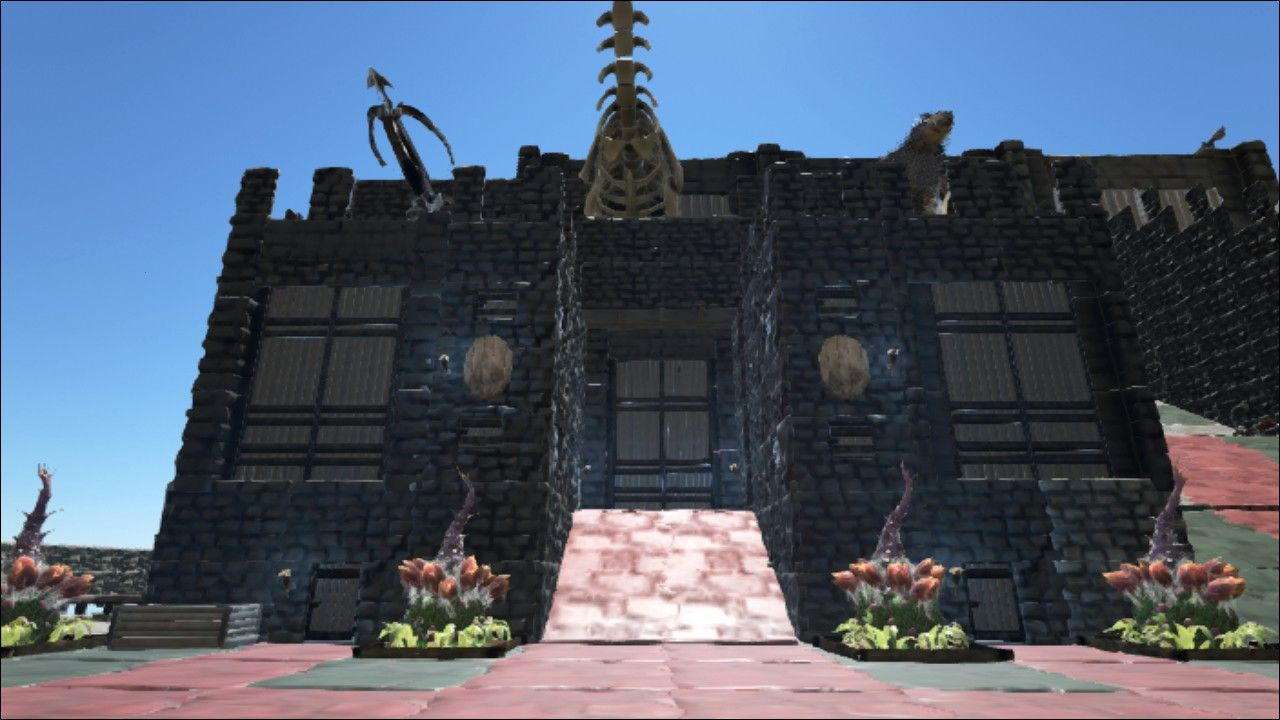 House design games steam - Ark Survival Evolved Base Made Near Dead Island On The Ne Of The Map Credit To Steam User