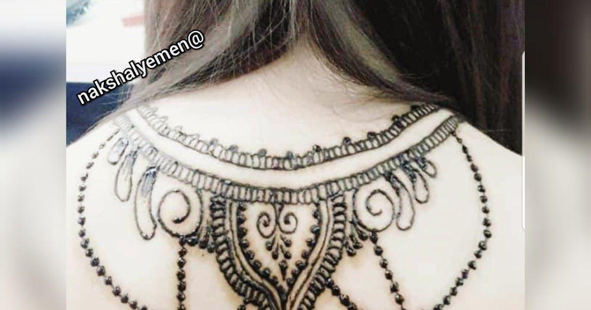 صور نقش عرايس و نقش يمني صنعاني أسود 2029 Polynesian Tattoo Statement Necklace Tattoos