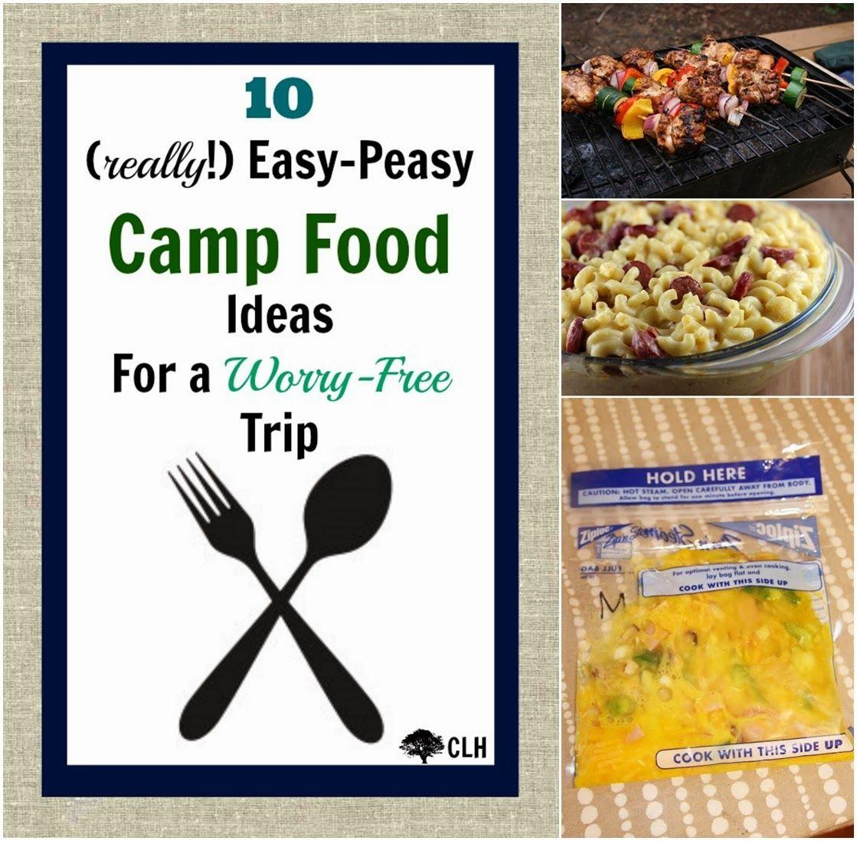 10 Easy Camp Food Ideas