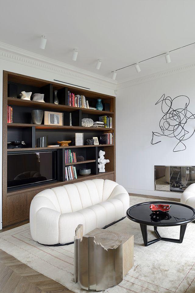 Le Bon Mix Selon Tristan Auer Living Room Decor Apartment Decoration Salon Moderne Interieur Maison