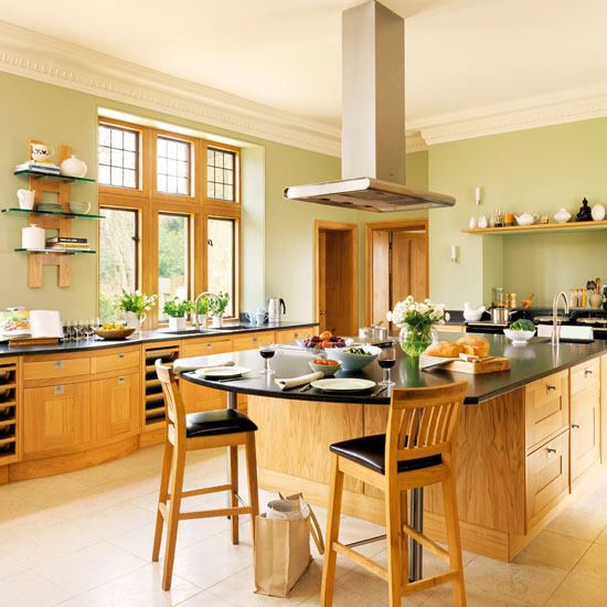 Simple Kitchen Design Hpd453: Simple Country Kitchen Designs