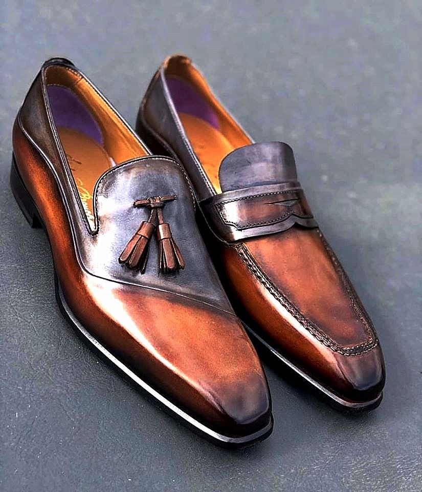 Handmade leather shoes for sale in 2020