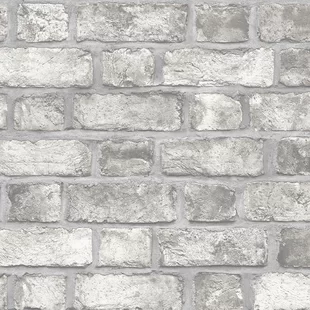 Brewster Home Fashions Oxford 33 X 20 5 Brickwork Exposed Wallpaper Roll Wayfair Ca Brick Wall Wallpaper Brick Wallpaper Brick Wallpaper Grey