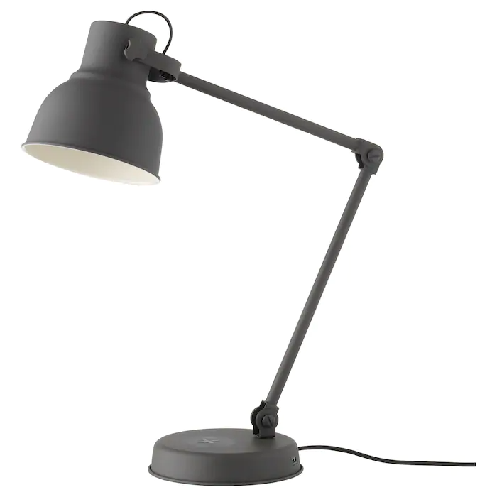 TERTIAL Arbetslampa, mörkgrå IKEA