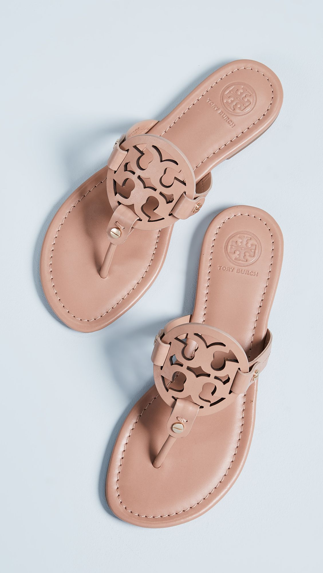 3ba6529f32a522 Who doesn t need all of these Tory Burch  Miller  flip flops in every  possible color  Pick a color on ShopStyle