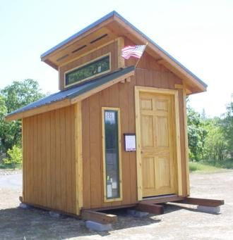 This Tiny Shed House Is Actually