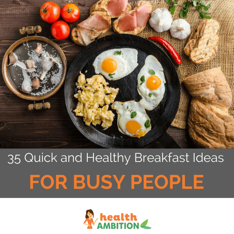35 Quick and Healthy Breakfast Ideas for Busy People (Most Take Less Than 5 Minutes to Prepare) images