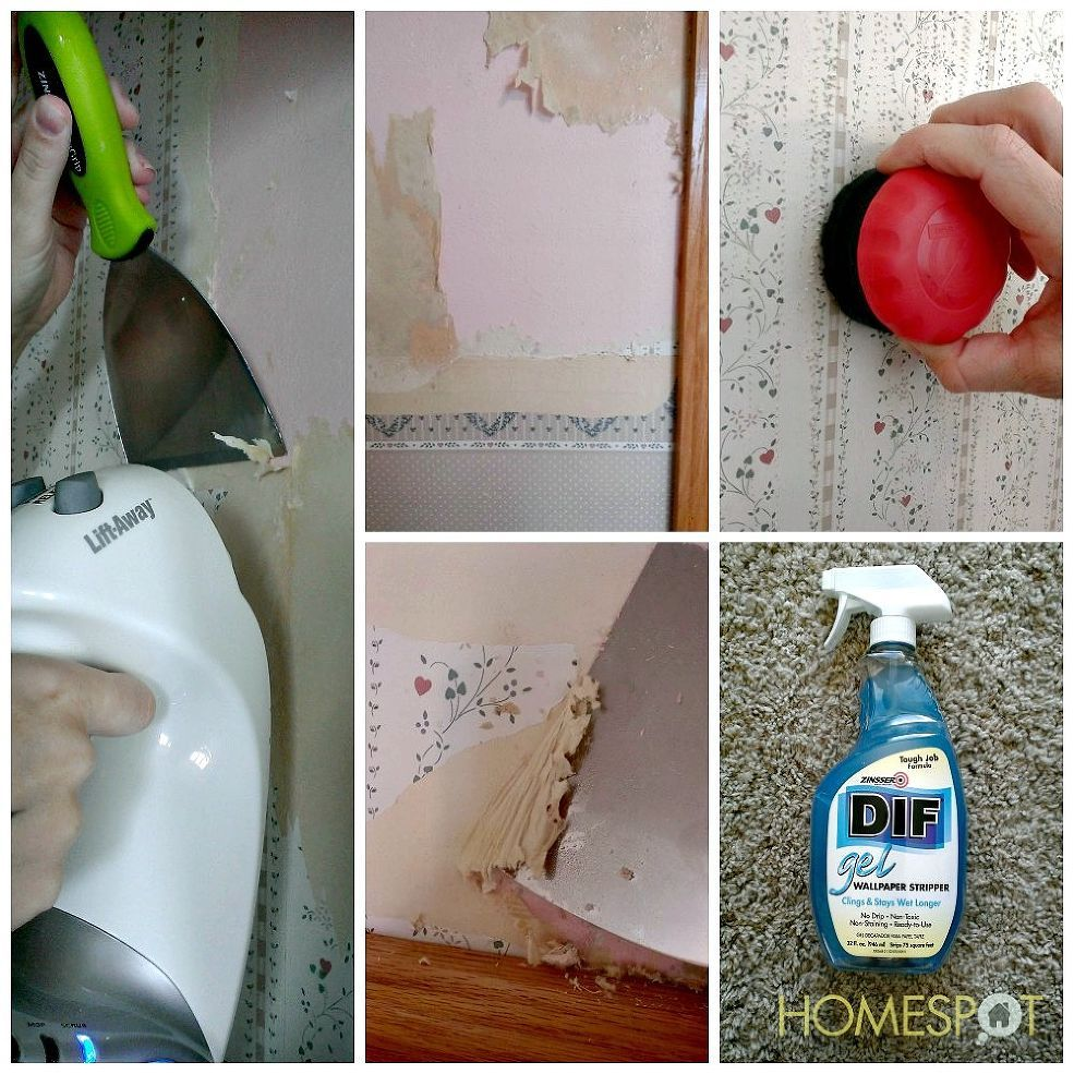 Here's how to remove even the most difficult wallpaper.