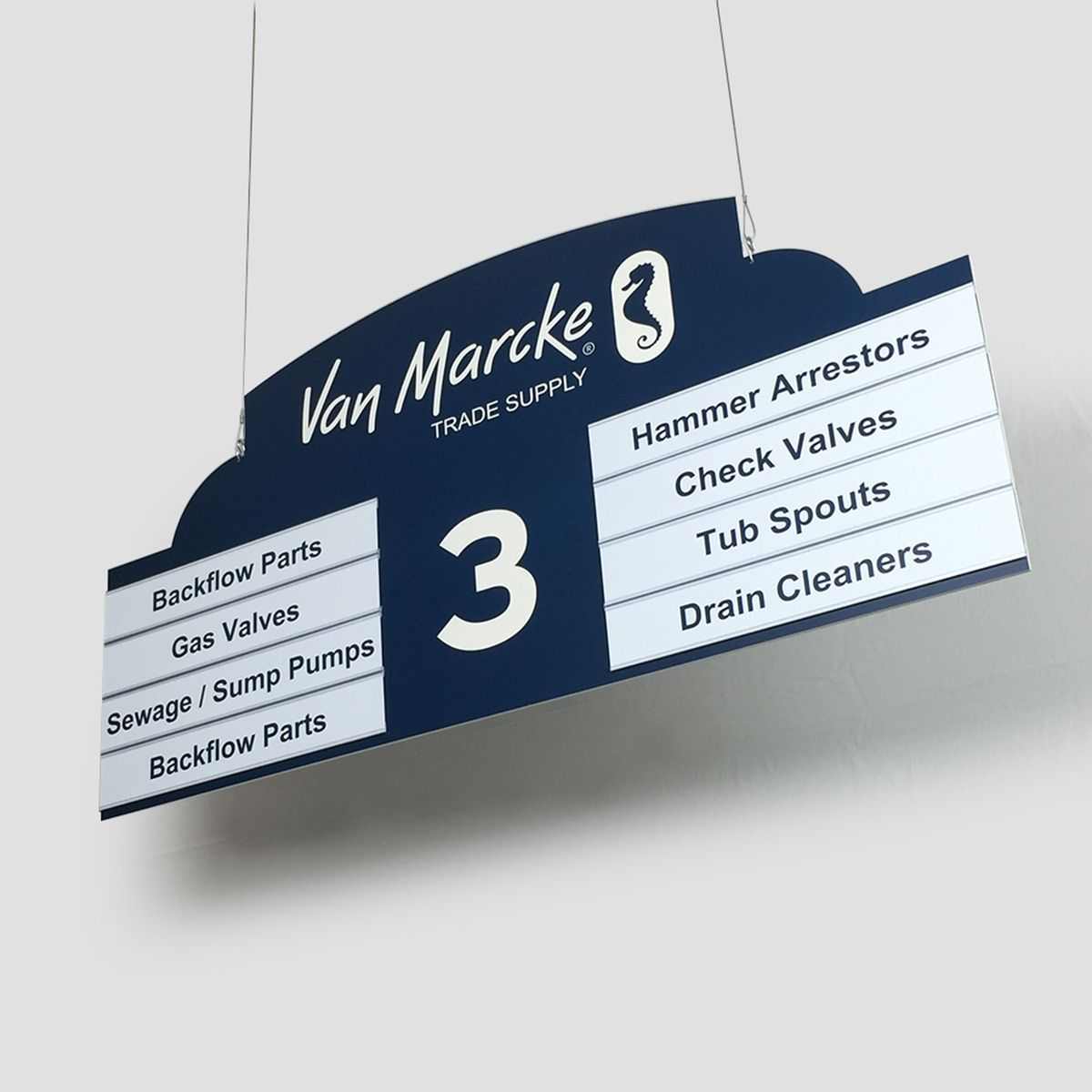Aisle Signs For Retail Stores