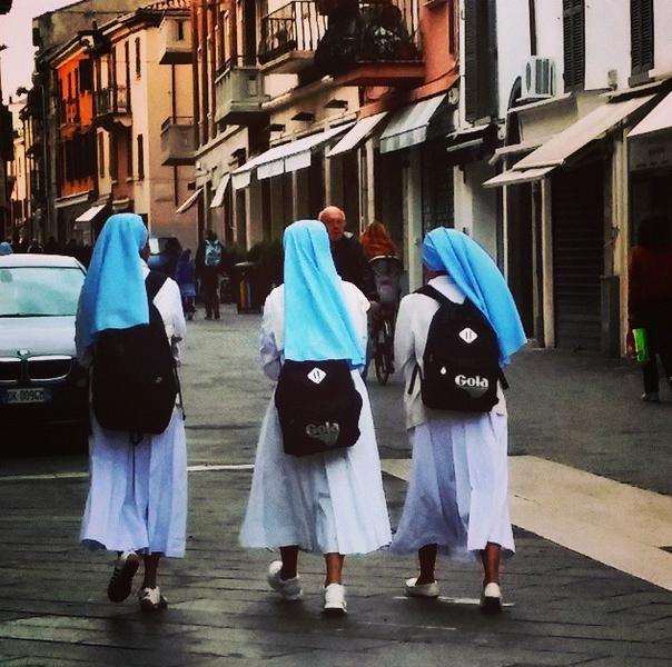 Provvidenza o no, la vita è comunque un cammino. #nun #Rimini