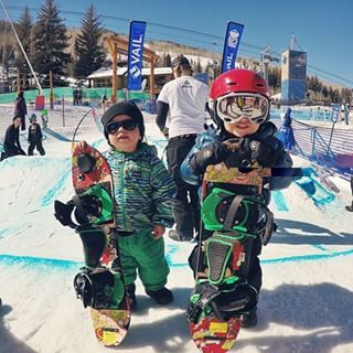 Burton Snowboards On Instagram Brothers Wes 19 Months And Jake 3 Looking Like A Couple Of Bosses After Get Snowboarding Family Ski Trip Burton Snowboards