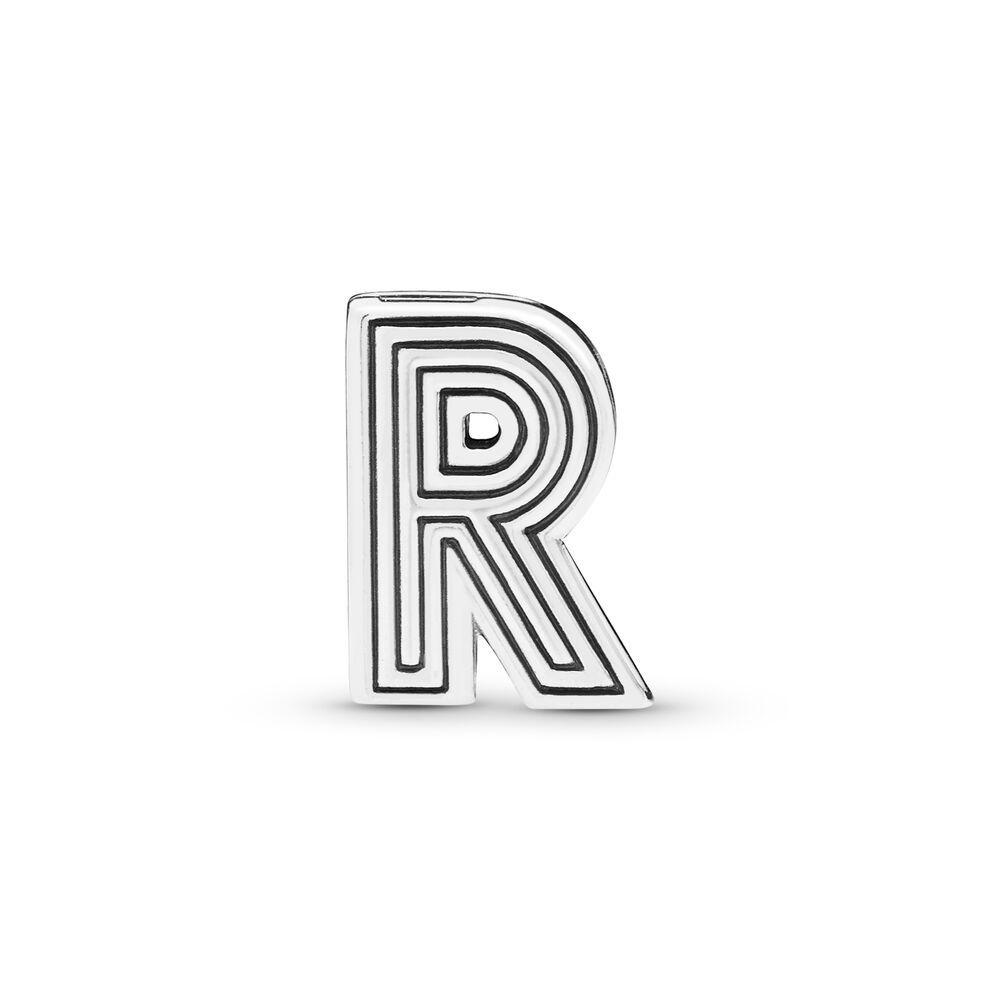 pandora charm lettera r