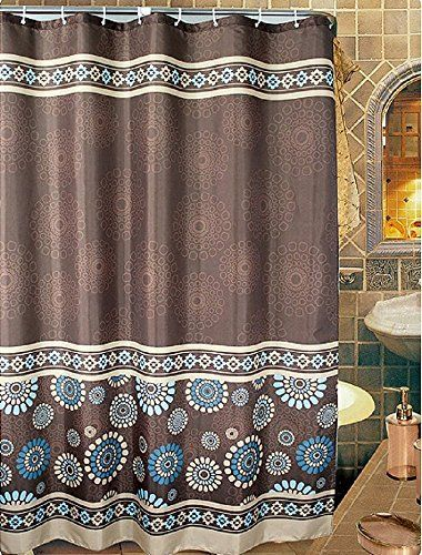 Uphome 72 X 78 Inch Cool Circle Floral Pattern CoffeeBro