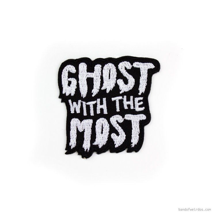 Ghost with the most sticker patch band of weirdos