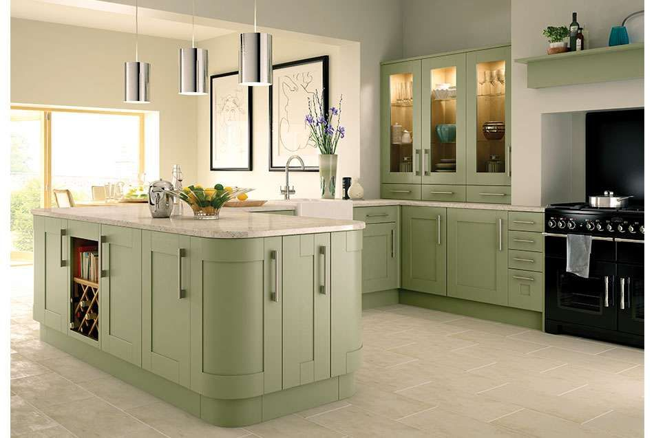 for worktop | Kitchen fittings, Sage green kitchen, Wickes ...