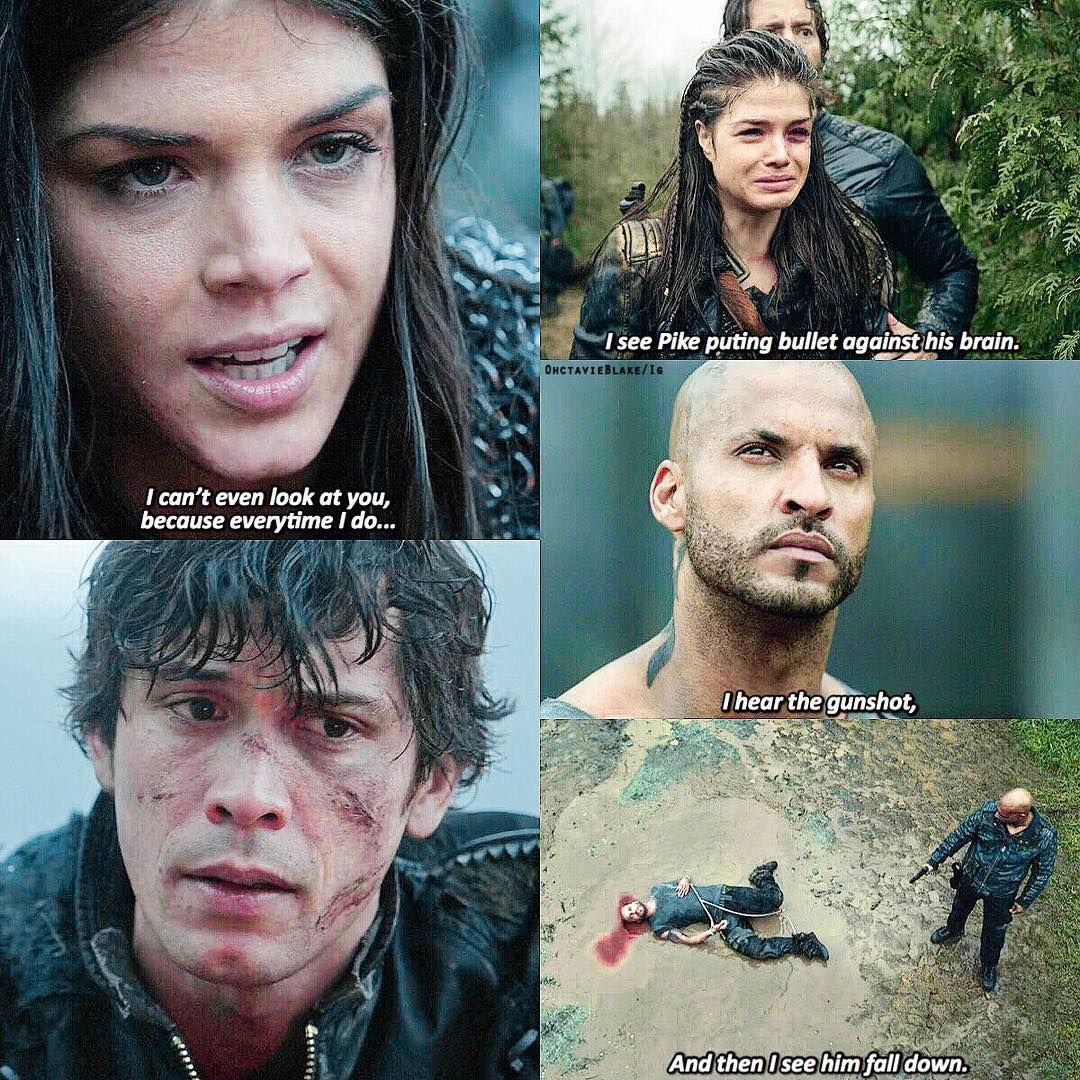 The100 Bobmorley Marieavgeropoulos Rickywhittle Ricky