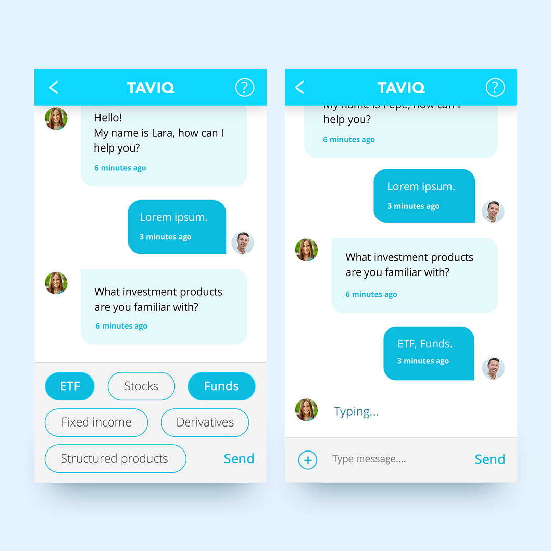 Banking Chatbot on Behance | Chatbot | Mobile chat app
