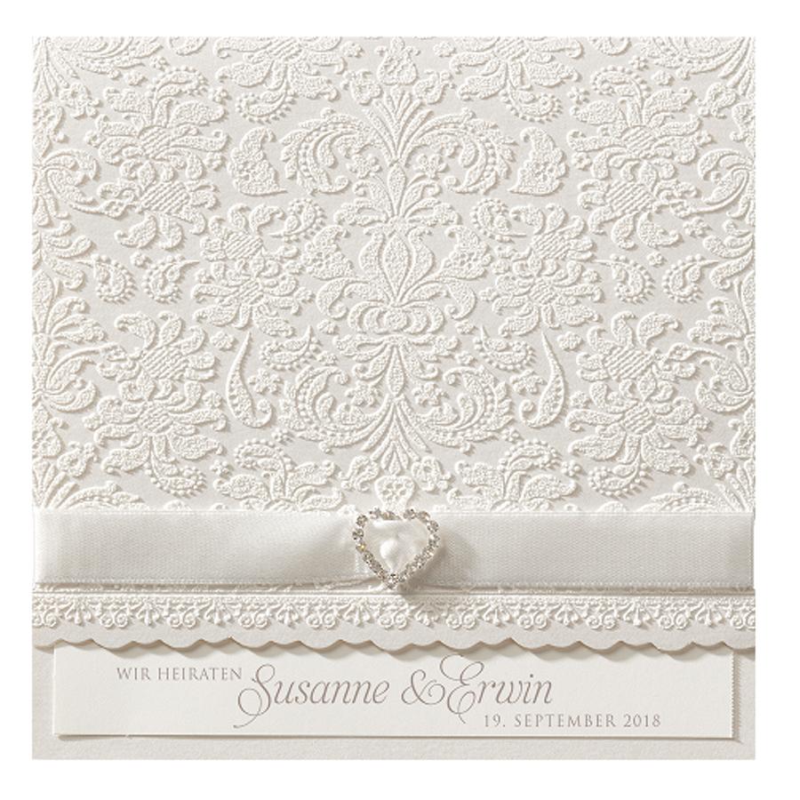 Hochzeitskarten Edle Spitze Sehr Romantisch Vorort Bei Wimmer