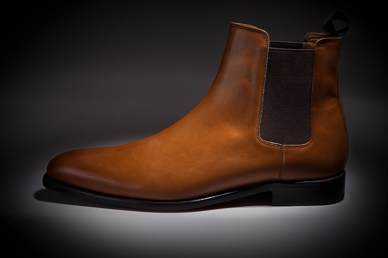3646b05152f1 LodinG - Bottines - Chelsea armagnac patine box - Shoes   Shirts ...
