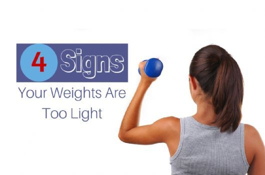 4 Signs You Need to Lift More Weight | SparkPeople