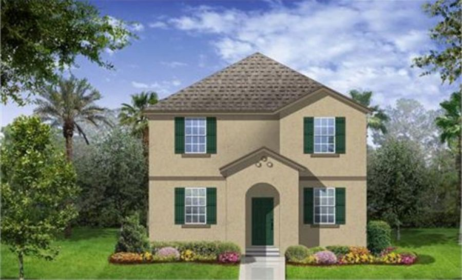 Beaumont Delray Elevation B in Independence, Winter Garden FL ...