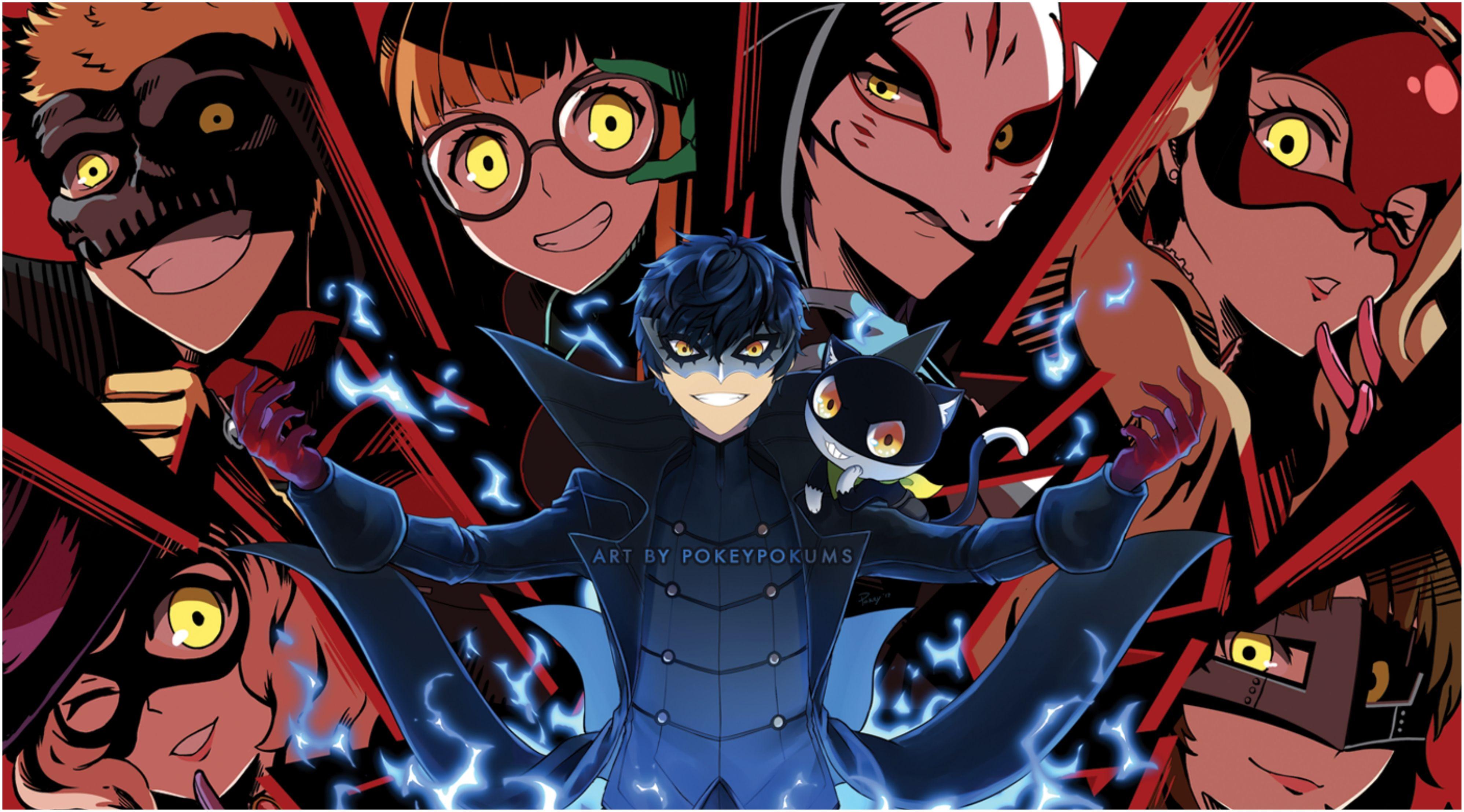 Persona 5 Wallpaper 4k 3994x2216 Anime Persona 5 Akira Kurusu