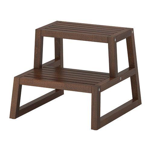 MOLGER Scaletta/sgabello IKEA seduta per il trucco e accesso al ...