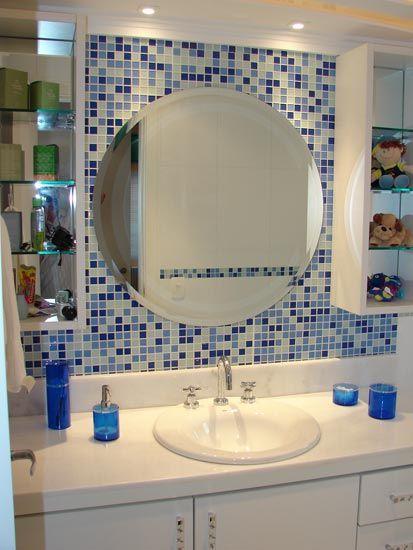 banheiros pastilhados modernos  Pesquisa Google  Banheiros  Pinterest  Ba -> Banheiros Modernos Pastilhados
