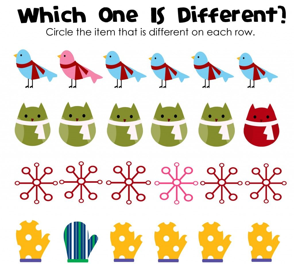 Which One Is Different