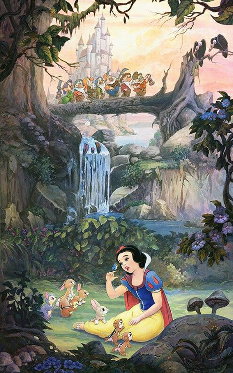 Snow White Wallpaper In 2020 Disney Princess Wallpaper Snow White Disney Disney Wallpaper