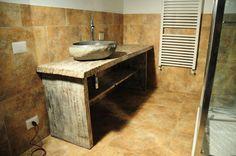 Arredamento Con Materiale Riciclato : Arredare casa con i materiali di recupero nel bagni