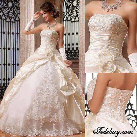 Tidebuy Wedding Dress