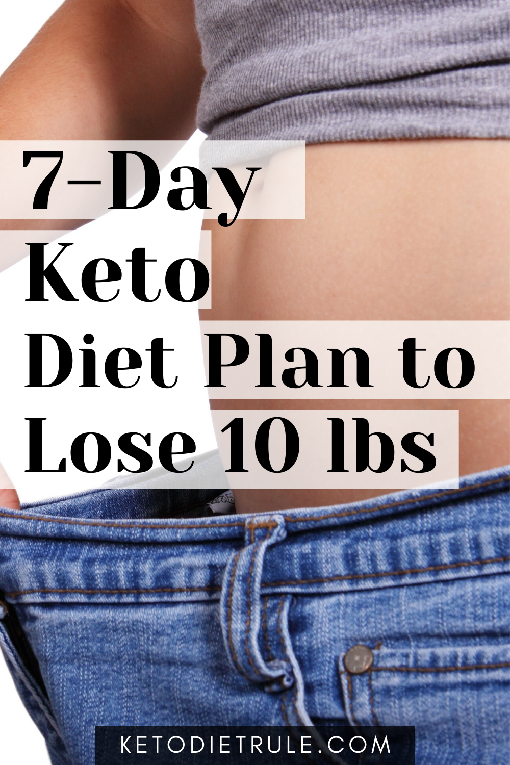 7-Day Keto Diet Plan for Beginners to Lose 10 LBS | Keto ...