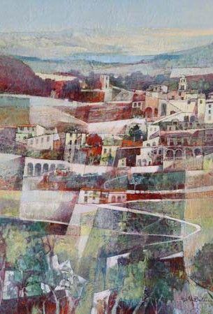 Angelo Bellini Galerie Alain Daudet Toulouse France Paysages