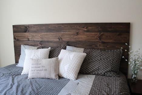 Diy How To Make Your Own Wood Headboard Diy Wood Headboard Diy