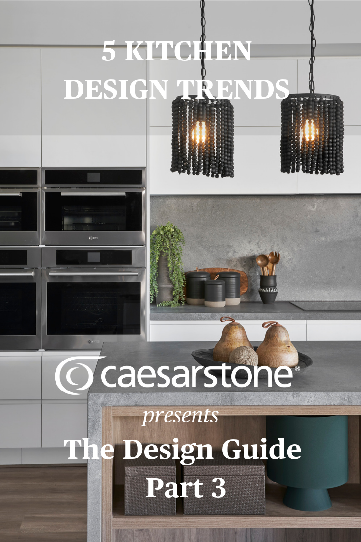 Five of the top trends influencing kitchen design – which trend ...
