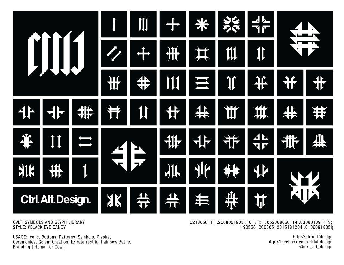 Cvlt vector symbols library ctrl alt design pinterest symbols cvlt vector symbols library buycottarizona Images