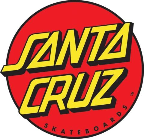 Vintage Santa Cruz Reflective Logo Skateboard Sticker NOS 1987