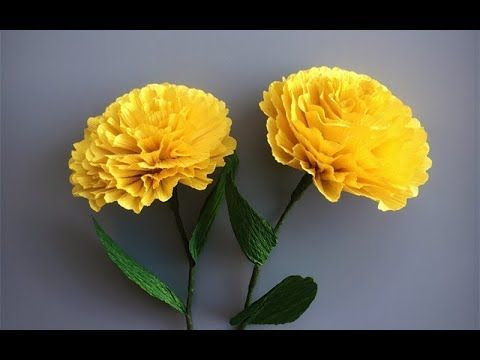 Abc Tv How To Make Yellow Loosestrife Paper Flower From Crepe